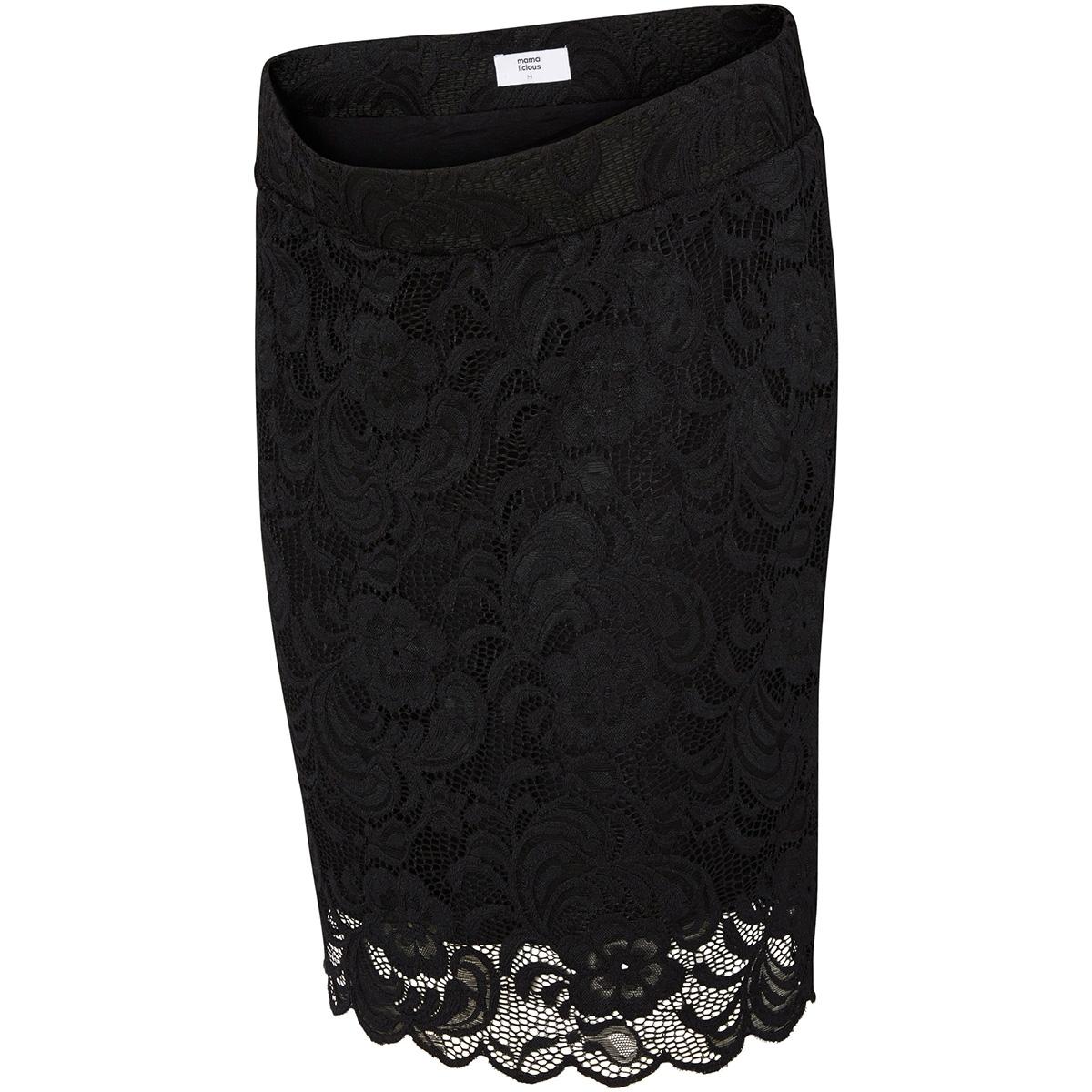 mlmivana woven skirt 20007217 mama-licious positie rok black