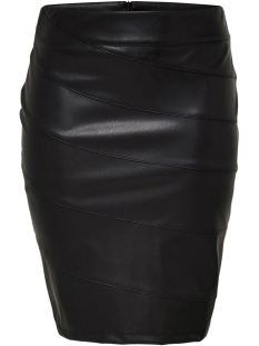 Only Carmakoma Rok carROSIE PENCIL PU SKIRT 15167560 Black