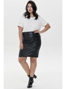 carrosie pencil pu skirt 15167560 only carmakoma rok black
