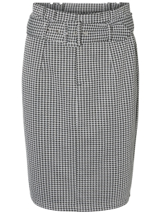 Vero Moda Rok VMFOREVER BLK HW PENCIL SKIRT GA 10206738 Black/BLACK/WHITE