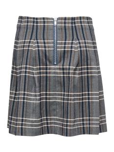 onlnina check hw short skirt tlr 15167444 only rok medium grey mel/mgm check