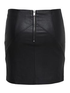onljeanett faux leather short skirt 15168503 only rok black