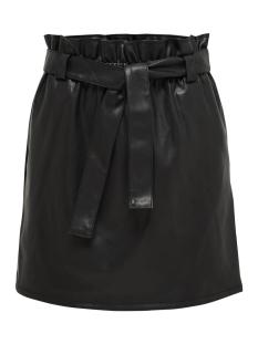 onlcoc paperbag pu skirt wvn 15173859 only rok black