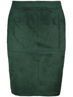 6727 suedine skirt luba rok groen