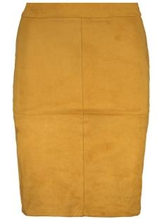 6727 suedine skirt luba rok oker