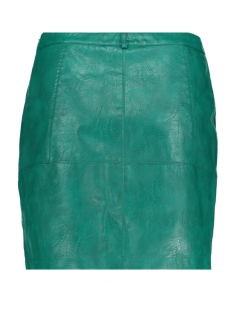 vmcameo nw short faux leather skirt 10216033 vero moda rok alpine green