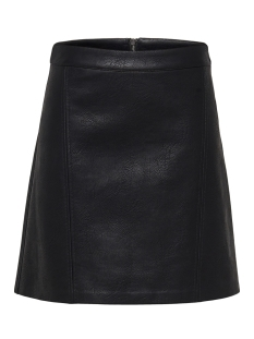 Only Rok onlALLISON FAUX LEATHER SKIRT OTW 15171347 Black