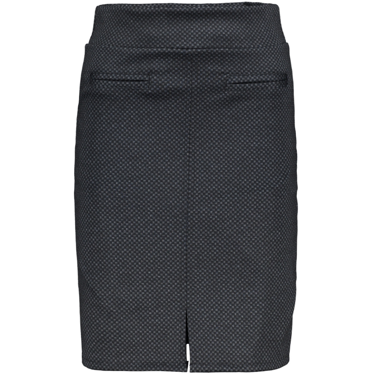 3516 skirt print iz naiz rok navy