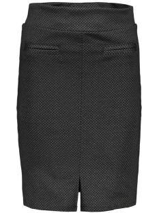 3516 skirt print iz naiz rok black