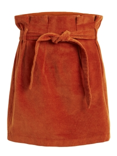 Object Rok OBJABELLA HW CORDUROY SKIRT A Q 23030619 Oak Brown