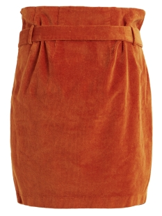 objabella hw corduroy skirt a q 23030619 object rok oak brown