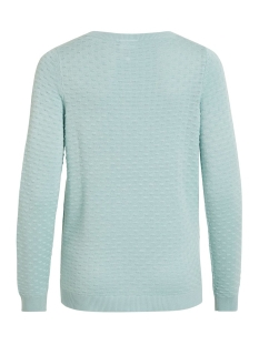 visarafina knit top - noos 14044509 vila trui blue haze