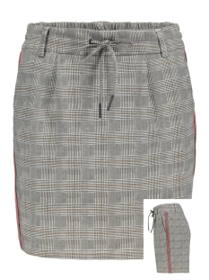 Only Rok onlPOPTRASH CHECKED PANEL SKIRT 15176009 Medium Grey Melange
