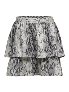 Only Rok onlKARLA SHORT AOP SKIRT TLR 15180770 Ash/SNAKE