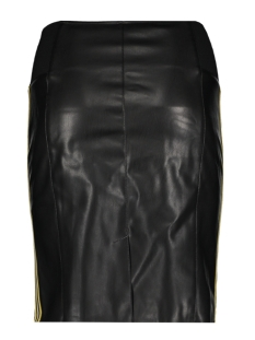vmband butter hw ak faux leather sk 10209388 vero moda rok black/band yarro