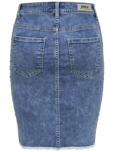 onlemilie panel skirt pim004 15179103 only rok medium blue denim