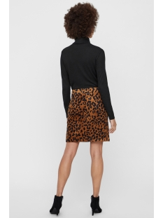 vmsally short  hw corduroy skirt fx 10217412 vero moda rok black/leo