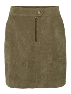 Vero Moda Rok VMSALLY SHORT  HW CORDUROY SKIRT FX 10217412 Ivy Green/SOLID