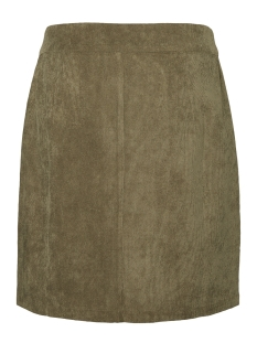 vmsally short  hw corduroy skirt fx 10217412 vero moda rok ivy green/solid