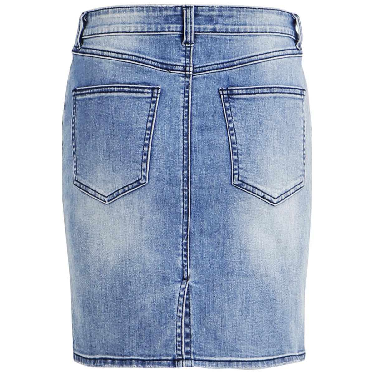 objwin new denim skirt noos 23028503 object rok medium blue denim