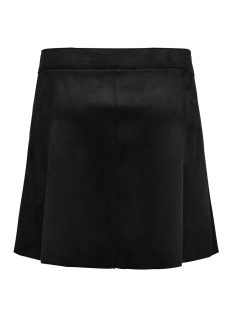 onlnew ea faux suede bonded skirt o 15171351 only rok black