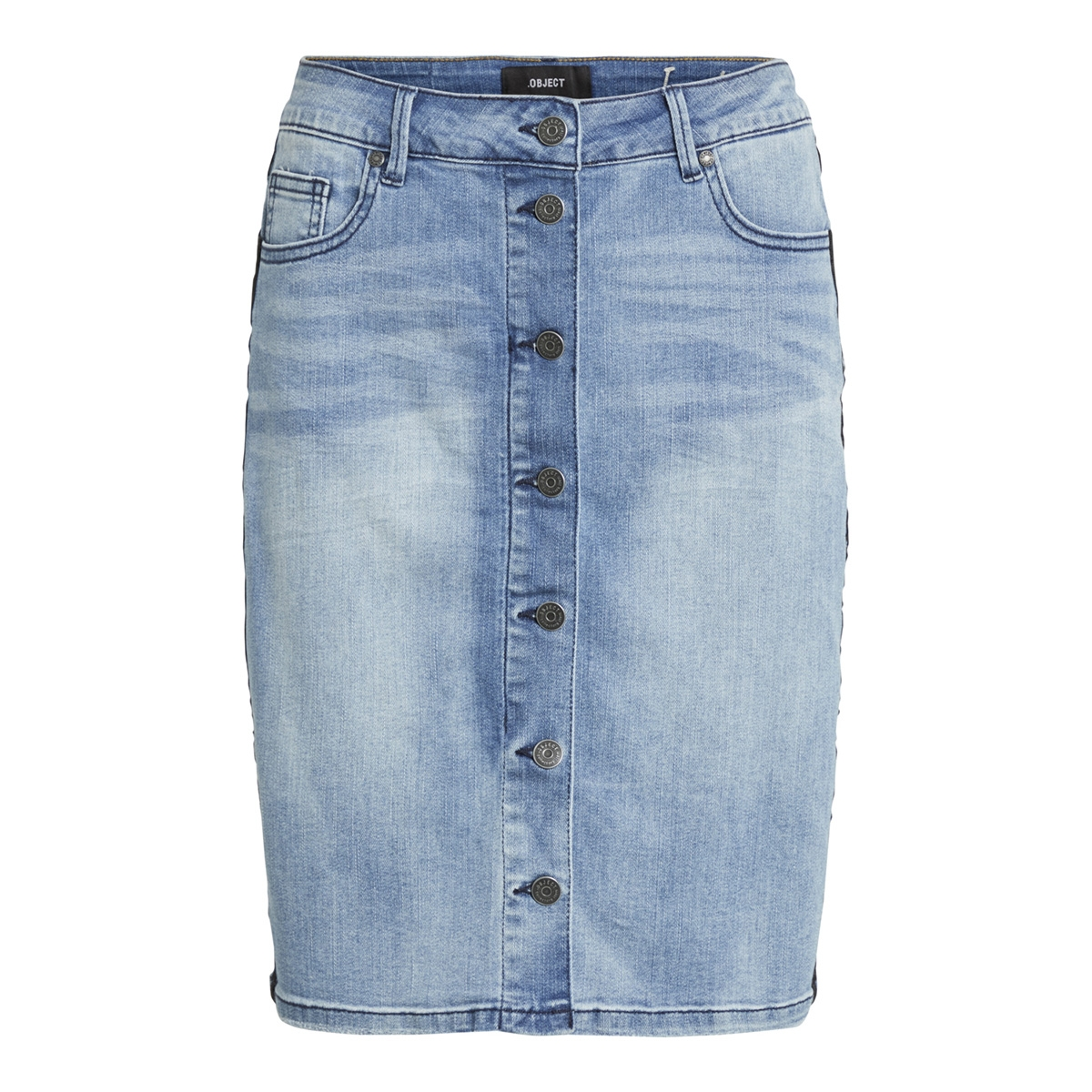 objkey mw denim skirt oxi195 101 23029098 object rok light blue denim