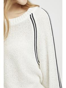 objkatri l/s knit pullover 101 23028738 object trui gardenia