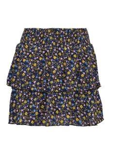 Only Rok onlPHOEBE SHORT SKIRT WVN 15172556 Black/DITSY FLOWER