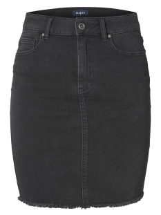 Pieces Rok PCAIA MW DNM SKIRT BL613-VI NOOS 17094853 Black Denim