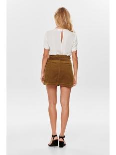 jdykira button skirt pnt 15183800 jacqueline de yong rok golden brown
