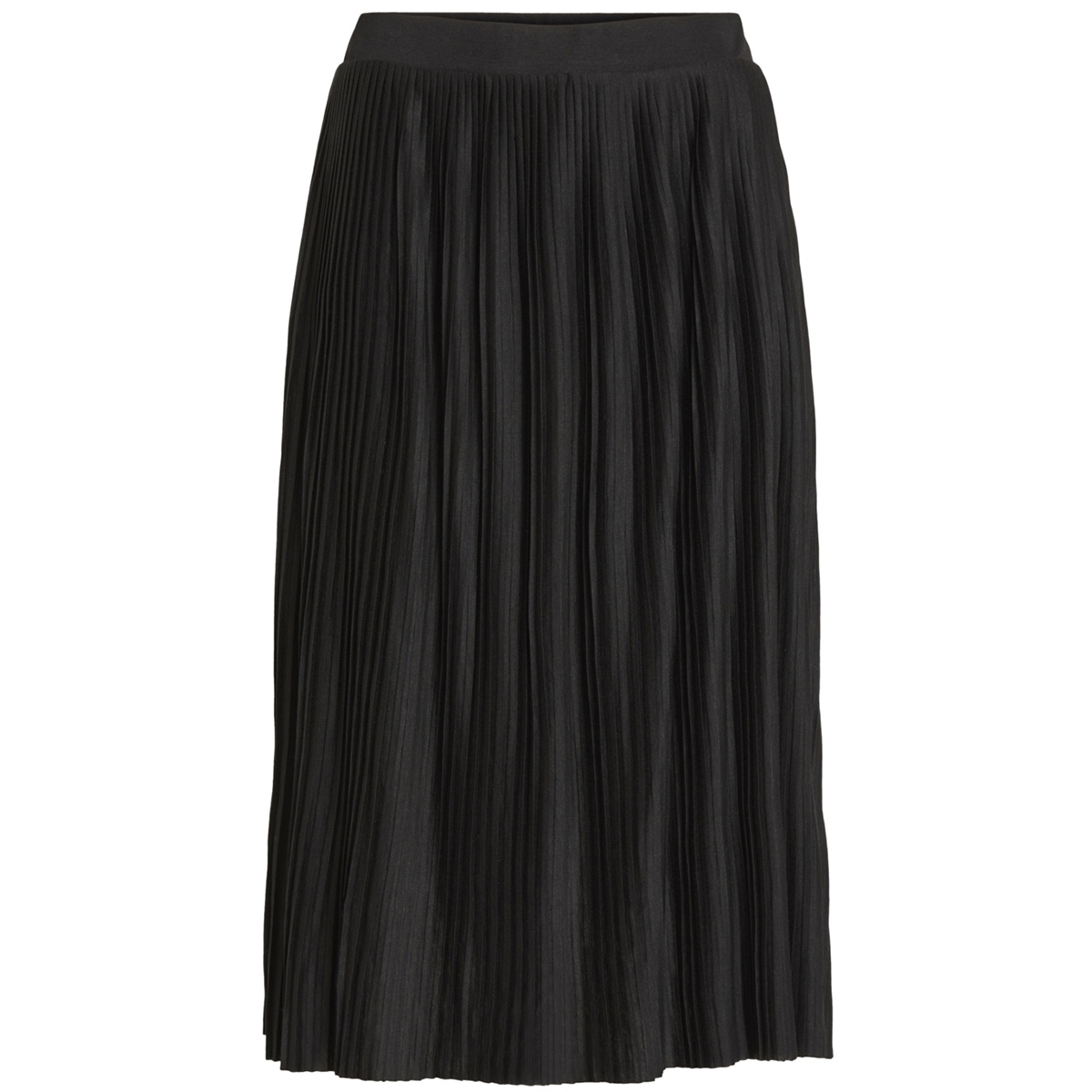 vipliss hw midi skirt 14052997 vila rok black