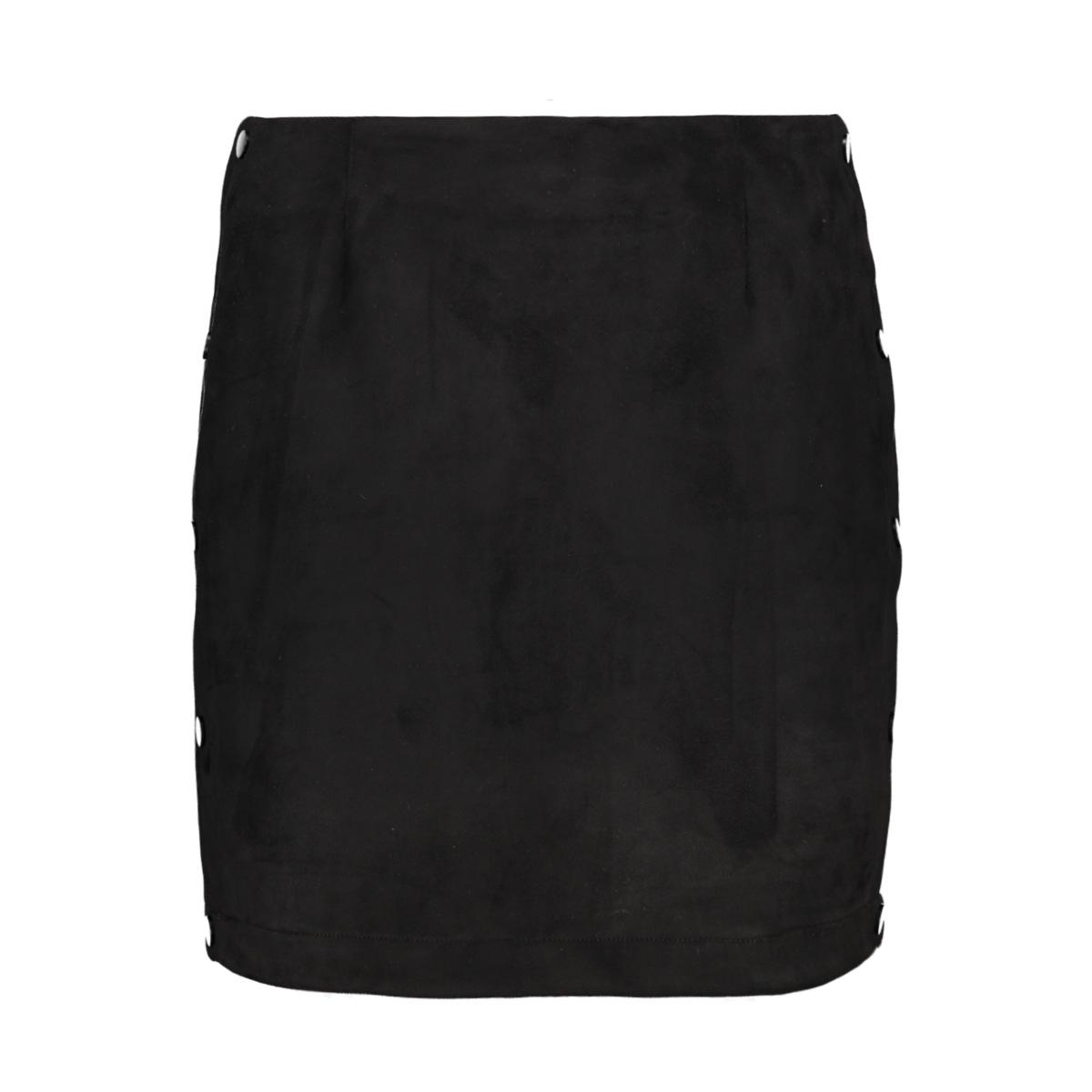 vmbelle nw short faux suede skirt 10211152 vero moda rok black