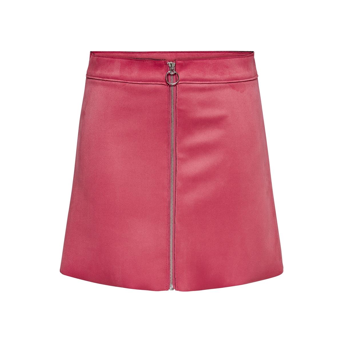 774e57cf2df494 onlnew ea faux suede bonded skirt o 15171351 only rok geranium