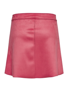 onlnew ea faux suede bonded skirt o 15171351 only rok geranium