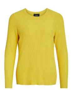 Object Trui OBJFRIDA L/S KNIT PULLOVER PB5 23029038 Maize