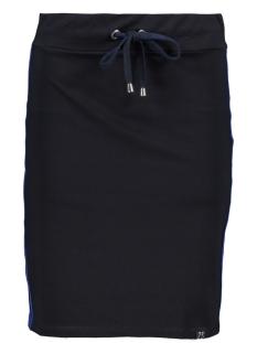 skirt with piping sr1901 zoso rok navy/cobalt