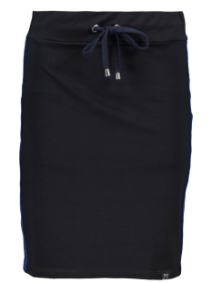 Zoso Rok SKIRT WITH PIPING SR1901 NAVY/COBALT