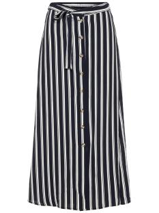 vmsasha ancle skirt noos 10215361 vero moda rok navy blazer/snow white