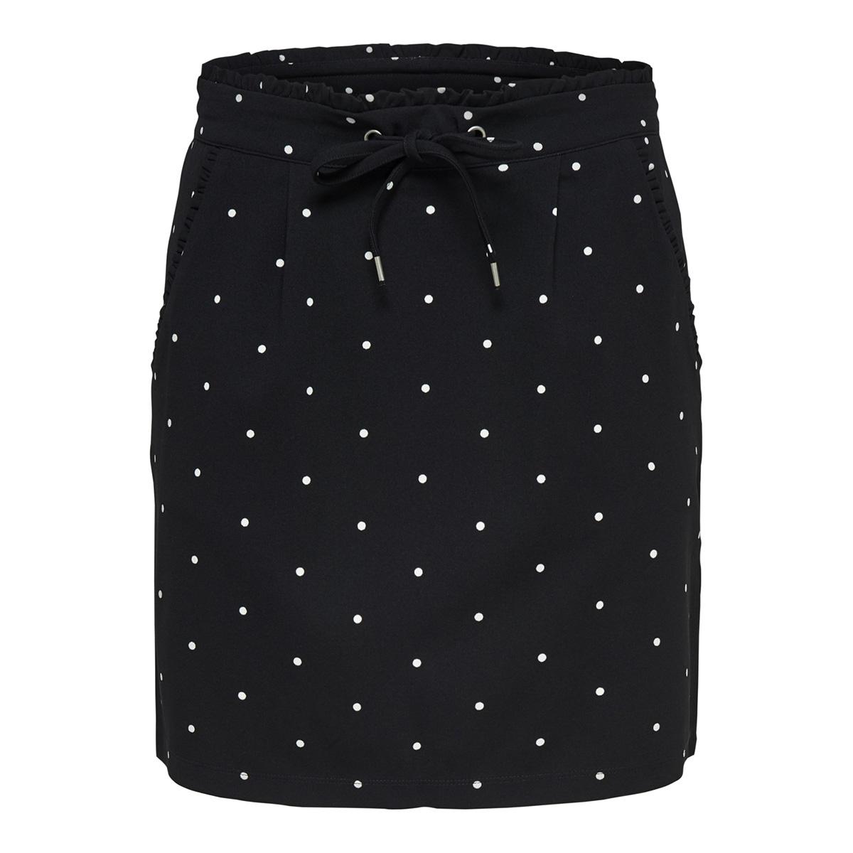 jdycatia treats aop skirt jrs 15177203 jacqueline de yong rok black/few dots