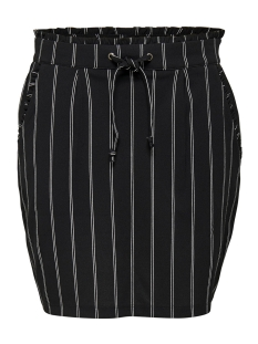 Jacqueline de Yong Rok JDYCATIA TREATS AOP SKIRT JRS 15177203 Black/DOUBLE STRIPES