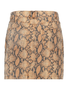 vmleonor mr short skirt 10218605 vero moda rok snow white/snake