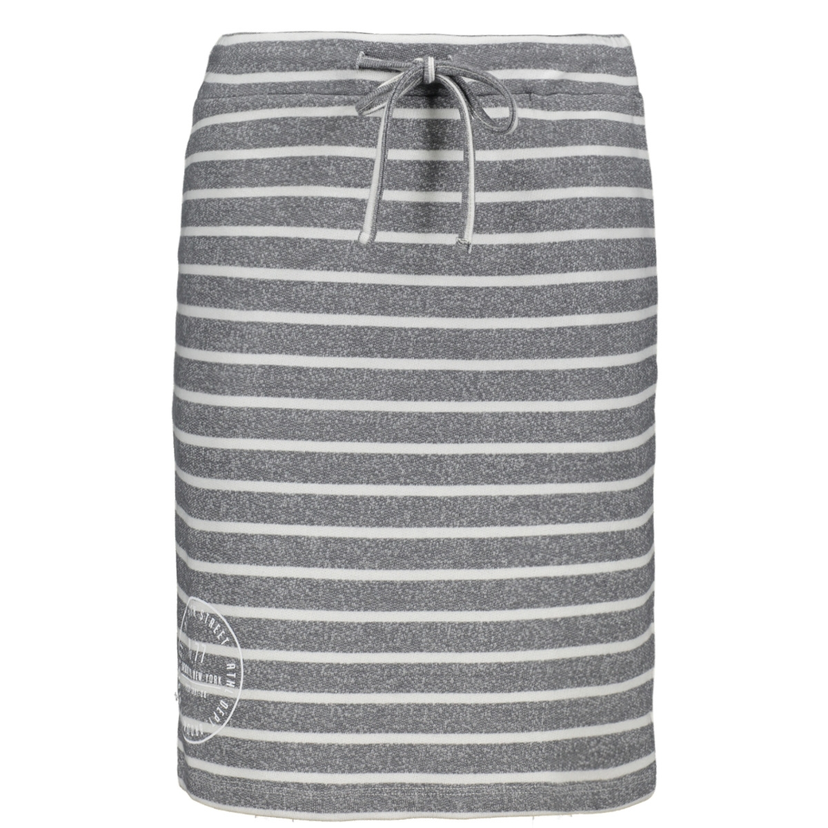 helene sweat skirt with print 192 zoso rok grey/white