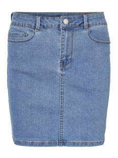 Vero Moda Rok VMHOT SEVEN MR SHORT SKIRT DENIM 10209954 Light Blue Denim