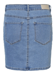 vmhot seven mr short skirt denim 10209954 vero moda rok light blue denim