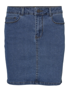 vmhot seven mr short skirt denim 10209954 vero moda rok medium blue denim