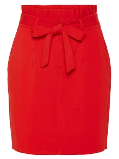 Vero Moda Rok VMEVA HR PAPERBAG SHORT SKIRT COLOR 10215911 Chinese Red