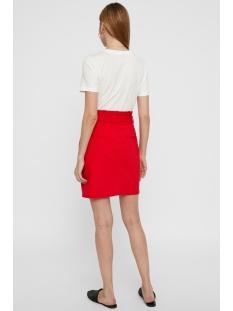 vmeva hr paperbag short skirt color 10215911 vero moda rok chinese red