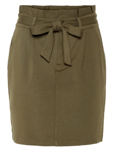 Vero Moda Rok VMEVA HR PAPERBAG SHORT SKIRT COLOR 10215911 Ivy Green