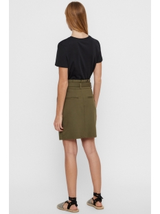 vmeva hr paperbag short skirt color 10215911 vero moda rok ivy green
