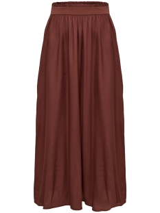 Only Rok ONLVENEDIG PAPERBAG LONG SKIRT WVN 15164606 Henna